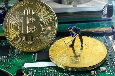 1 hour BITCOIN Crypto Coin Mining Contract Speed 120TH/S 0.00015 BTC