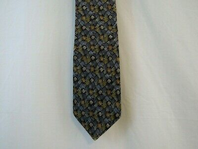 Cocktail Collection Tie Necktie Multi color Pattern 100% Silk made in USA