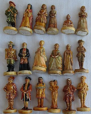 Rare Antique Terracotta Clay Figurines Colonial Made In India
