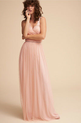 4488cfd3087a NEW ANTHROPOLOGIE BHLDN $250 Rose Fleur Dress Gown By Hitherto Sz 4 ...