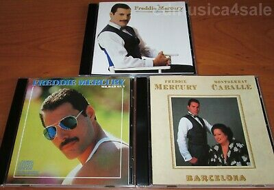 3CD set  FREDDIE MERCURY ‎- Mr. Bad Guy / Barcelona /‎ The Album