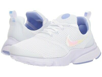 09ce5235bf6b NIB  110 Women s Nike Presto Fly Casual Shoes White Barely Grape Twilight  Pulse
