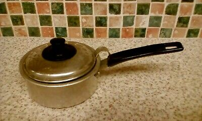 Evercool Single Egg Poacher Pan With Lid Insulated Handle Alluminium Made In Uk
