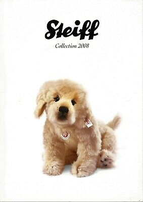 Steiff Collection Katalog 2008, neuwertig