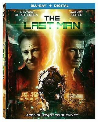 THE LAST MAN BLU-RAY/DIGITAL with SLIPCOVER 2019 BRAND NEW FREE SHIPPING!