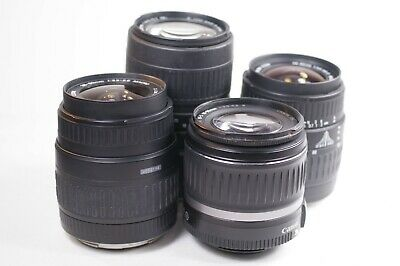 Canon EF EF-S Zoom Lenses Lens Lot 18-55mm Sigma 28-80mm 100-300mm ( AF Issues )