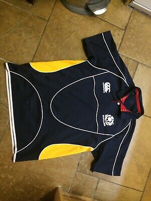 Scotland Rugby Union Team Shirt Jersey Canterbury Large
