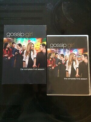 Gossip Girl - The Complete First Season (DVD, 2008, 5-Disc Set) NEW w/ slipcover