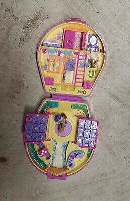 Vintage Polly Pocket Ridin Show Rodeo 1994 Bluebird  *100% Complete* w/Sound! +