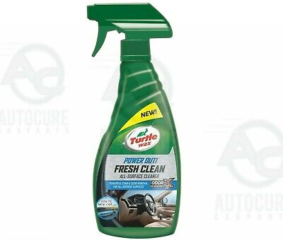 TURTLE WAX FRESH CLEAN POWER OUT ALL SURFACE CLEANER - 500ml ODOR REMOVER ODOR-X