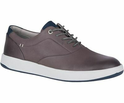 2959c40467b8 Sperry Gold Cup RICHFIELD CVO Mens Grey Leather STS17851 Slip On Boat Shoes