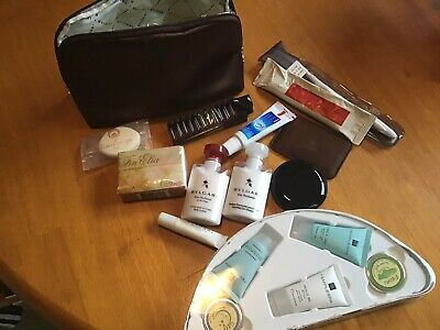 Emirates Bvlgari Womens First Class  Travel Kit With Templespa Travel Well Pack.