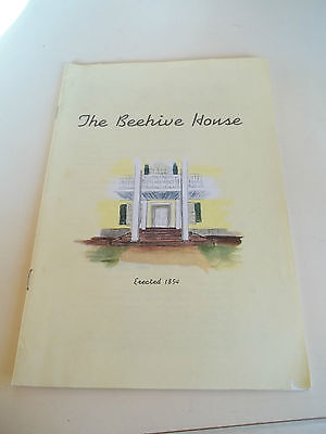 """""""The Beehive House"""" Brigham Young Mormon House 1960 Booklet"""