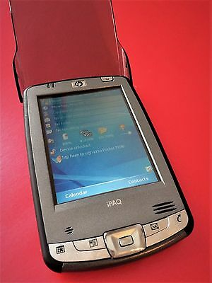 Vintage Retro PDA (HX2190B) Released by iPAQ Jan 2005. Fully Working. VGC