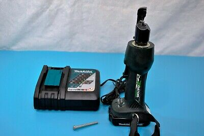 Greenlee Gator ETS8L 18v Battery-Powered Cable Tray Cutter w/120V Charger Bolt