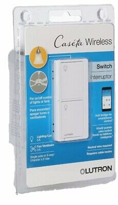 *NEW* Lutron Caseta Wireless Smart Lighting Switch for All Bulb Types and Fans