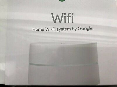GOOGLE WIFI SYSTEM (single Wifi point) - Router replacement for
