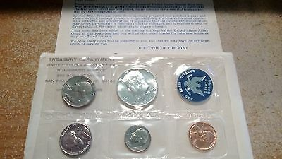 1965 US UNCIRCULATED SPECIAL MINT SET with 40 % SILVER KENNEDY HALF
