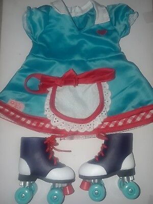 NIB Our Generation Deluxe TODAY/'S SPECIAL WAITRESS SET SKATES 18 Doll Food DINER