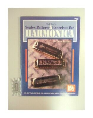 Mel Bay's Scales, Patterns & Exercises for Harmonica. Barrett, David: