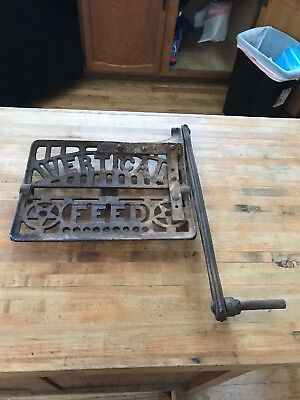 "DAVIS /""VERTICAL FEED/""  SEWING MACHINE CAST IRON FOOT PEDAL w// CONNECTING ROD"