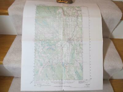 1951 Houlton Maine USGS Geological Survey Topographic Topo Map