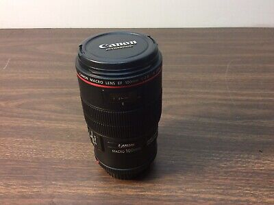 Canon EF 100mm f/2.8 L IS USM Macro Lens, Perfect Condition!