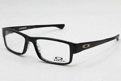 New Oakley Ox8046-0257 Black Ink Airdrop Authentic Eyeglasses Frame Rx 57-18