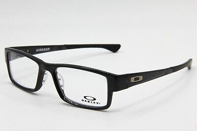 New Oakley Ox8046-0255 Black Ink Airdrop Authentic Eyeglasses Frame Rx 55-18