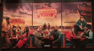 SXSW Exclusive American Gods Season 2 Triptych Poster~SDCC ~ECCC~WonderCon ~NYCC