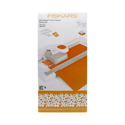 NEW Fiskars AdvantEdge Punch System Starter Set By Spotlight