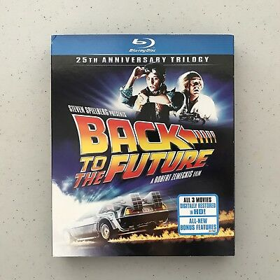Back to the Future: 25th Anniversary Trilogy (Blu-ray Disc, 2011, 3-Disc Set)