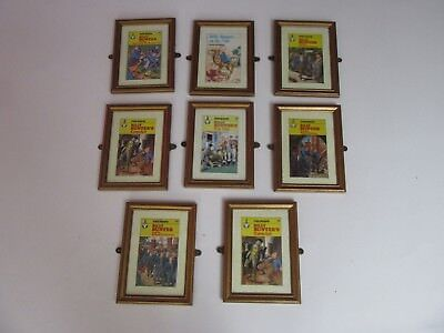 VINTAGE BILLY BUNTER PICTURE WOODEN FRAMED Made For The Famous School Dinners