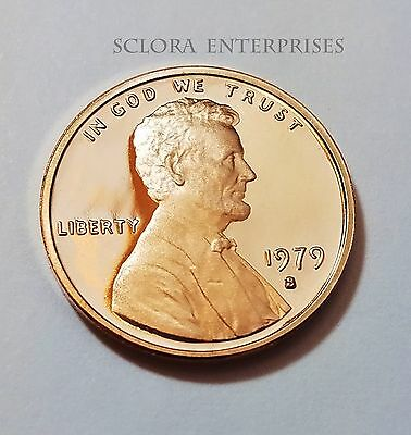 1979 S Lincoln Memorial *proof* Cent / Penny  *type 1*   **free Shipping**