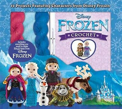 Disney Frozen Crochet 12 Projects Featuring Characters Disn by Galusz Kati