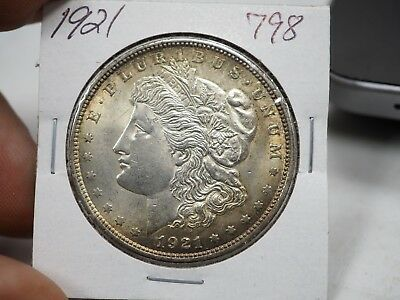 1921 $1 Morgan Silver Dollar  # 798