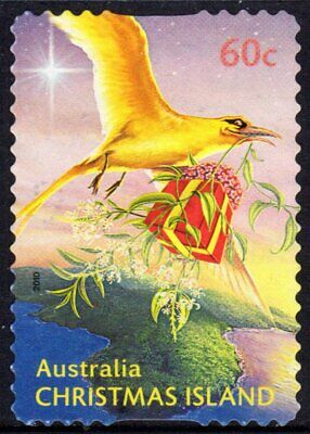 Christmas Island 1994 Year Of The Dog Used Sheet Format