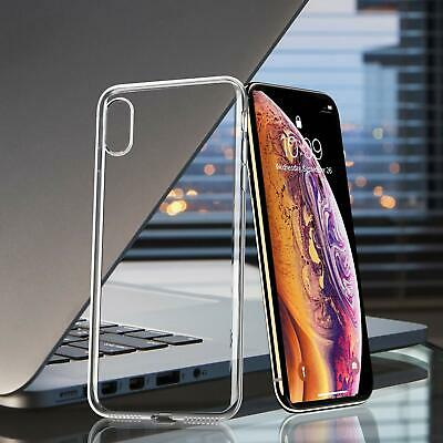 UNBREAKcable Apple iPhone X Case Xs Max XR Case Crystal Clear Ultra-Thin Cover