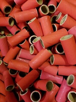 50 Fireworks Tube Kit Firecrackers + 100 End Plugs/Caps