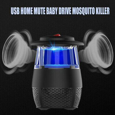 Electric Fly Bug Mosquito Insect Killer LED Light Trap Control de plagas