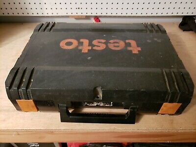 Used ABS Hard carrying Case for  Testo Combustion Analyzer.  Case Only!