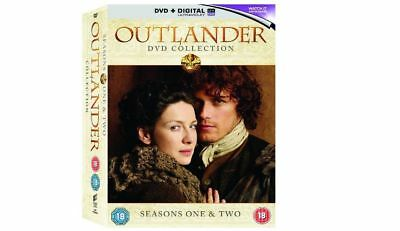 Outlander Complete Series Seasons 1 & 2  Collection New DVD Box set Region 4