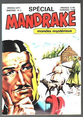 SPECIAL MANDRAKE n°19 # MONDES MYSTERIEUX # 1979 REMPARTS