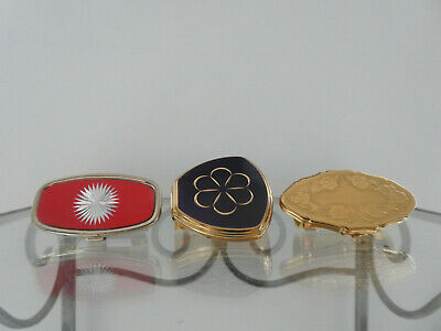 Vintage Lipstick Holders with Mirror Stratton, Japan