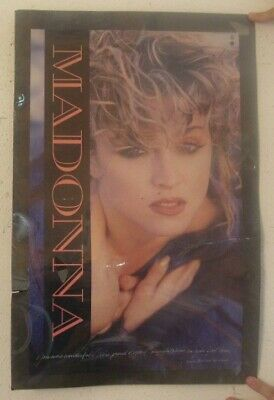 Madonna Poster Trade Ad First Tour
