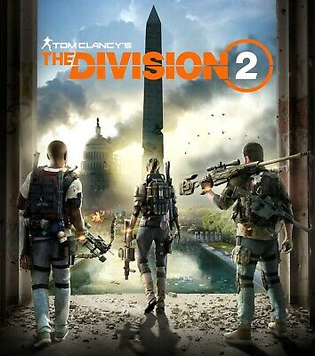 The Division 2 Uplay Code Key PC [EUROPE] *Read Description*