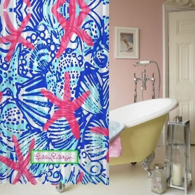 2188676fd6af5 NEW ITEM LILLY PULITZER SEA shower curtain size 60 x 72 inch ...