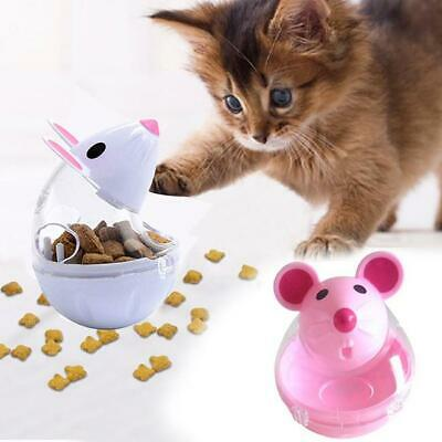 Pet Puppy Cat Dog Tumbler Feeder Leakage Food Dispenser Treat Ball Mice Toy HD