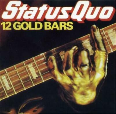 STATUS QUO 12 Gold Bars CD - Excellent Condition - Greatest Hits