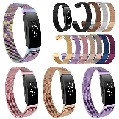 Magnetic Milanese Metal Wrist Band Bracelet Strap for Fitbit Inspire/Inspire HR